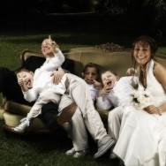 mariés et leurs enfants